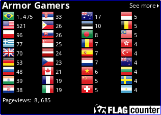 http://s09.flagcounter.com/count2/E2hK/bg_000000/txt_FFFFFF/border_0000FF/columns_4/maxflags_36/viewers_Armor+Gamers/labels_0/pageviews_1/flags_0/percent_0/